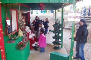 Sugarhaus and Santa